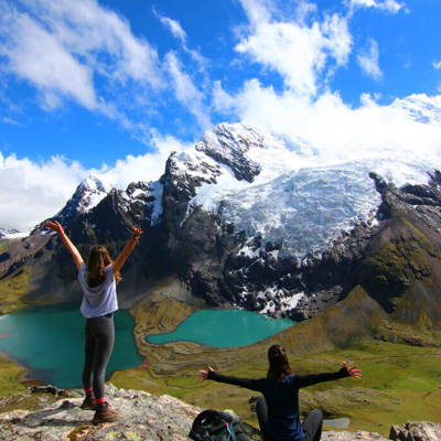 Ausangate trek, rainbow mountain and machupicchu